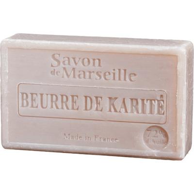 Mydło marsylskie z olejem ze słodkich migdałów - Karite (masło shea) Le Chatelard