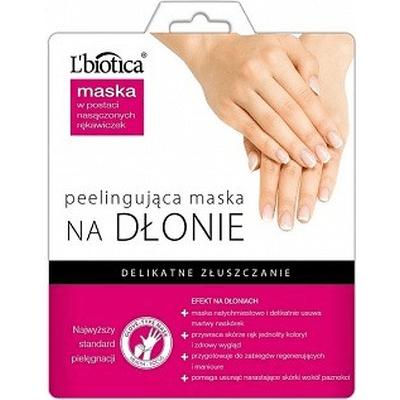 Maska peelingująca na dłonie w postaci rękawiczek L'biotica