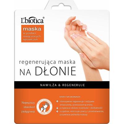 Maska regenerująca na dłonie w postaci rękawiczek L'biotica