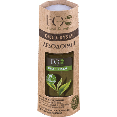 Naturalny dezodorant z wyciągiem z kory dębu - deo crystal EO Laboratorie