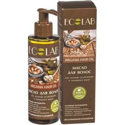 Wzmacniający arganowy olejek do osłabionych i łamliwych włosów EO Laboratorie