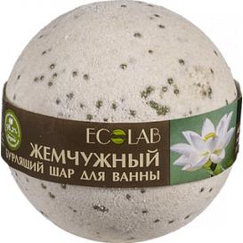 Musująca kula do kąpieli - Biały lotos i palmaroza
