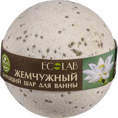 Musująca kula do kąpieli - Biały lotos i palmaroza EO Laboratorie
