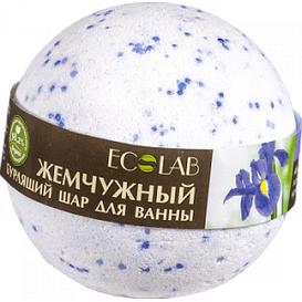 EO Laboratorie Musująca kula do kąpieli - Irys i passiflora