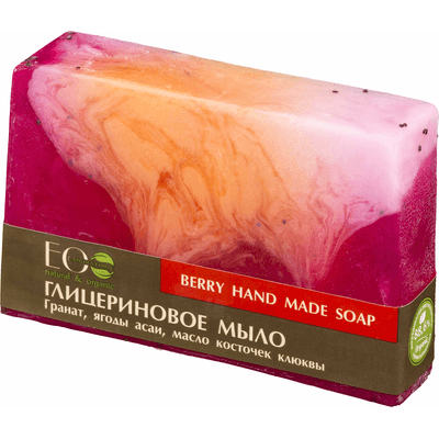 Naturalne mydło glicerynowe - Jagodowe EO Laboratorie
