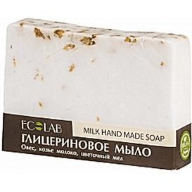 EO Laboratorie Naturalne mydło glicerynowe - Mleczne, 130 g