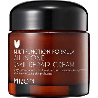 All In One Snail Repair Cream - Wielofunkcyjny krem ze śluzem ślimaka  Mizon