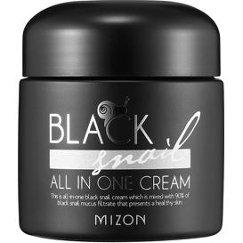 Mizon Krem ze śluzem ślimaka afrykańskiego BLACK SNAIL ALL IN ONE CREAM
