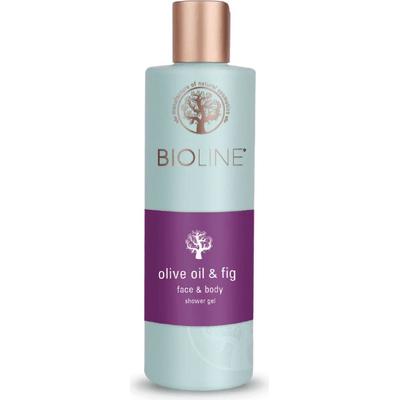 Żel pod prysznic i do mycia twarzy - Olive oil & fig Bioline