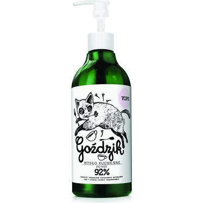 Naturalne mydło kuchenne w płynie do rąk - Goździk Yope