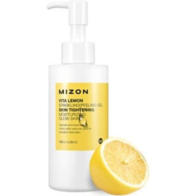 Cytrynowy peeling enzymatyczny Vita Lemon Sparkling Peeling Gel Mizon