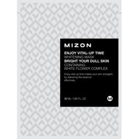 Mizon Enjoy Vital-Up Time Whitening Mask - Rozjaśniająca maska z białą lilią (data ważnoścI: 23.04.2021) 1 sztuka (30ml)