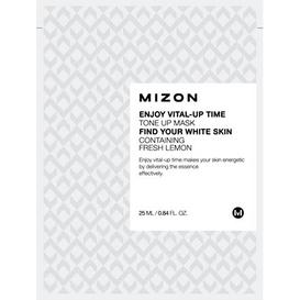 Mizon Enjoy Vital-Up Time Tone Up Mask - Orzeźwiająca maska z cytryną 25ml