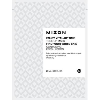Enjoy Vital-Up Time Tone Up Mask - Orzeźwiająca maska z cytryną Mizon