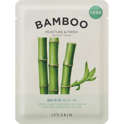 Odświeżająca maska tkaninowa do twarzy - Bambus It's Skin
