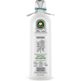 White Agafia Organiczny szampon pokrzywowy - Miękkość i połysk