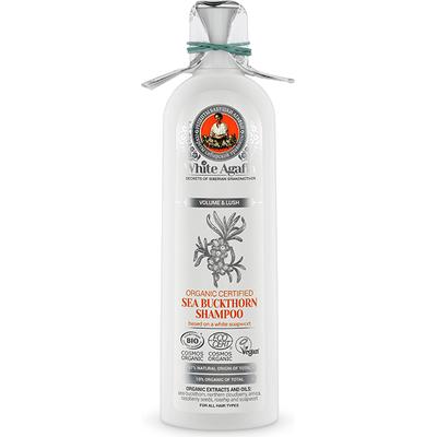 Rokitnikowy szampon do włosów - Objętość i puszystość White Agafia