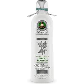 White Agafia Brzozowy szampon do włosów - Nawilżenie i równowaga