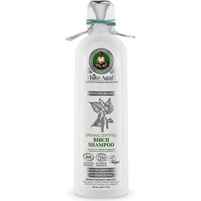Brzozowy szampon do włosów - Nawilżenie i równowaga White Agafia