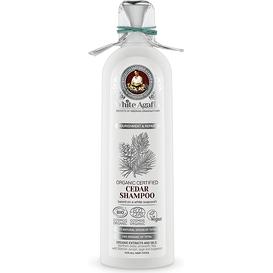 White Agafia Cedrowy szampon do włosów - Regeneracja i odżywienie