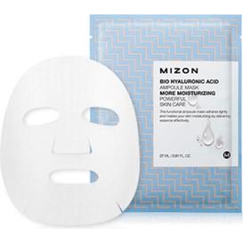 Silnie skoncentrowana nawilżająca maska z kwasem hialuronowym BIO HYALURONIC ACID AMPOULE MASK