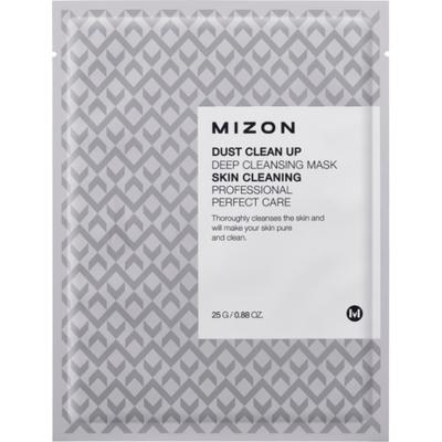 Dust Clean Up Deep Cleansing Mask - Głęboko oczyszczająca maska na płacie bawełny Mizon