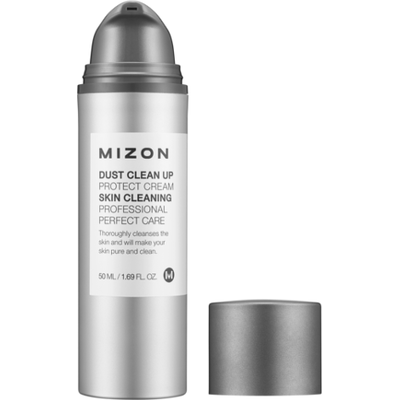 Krem ochronny do twarzy - DUST CLEAN UP PROTECTOR CREAM Mizon