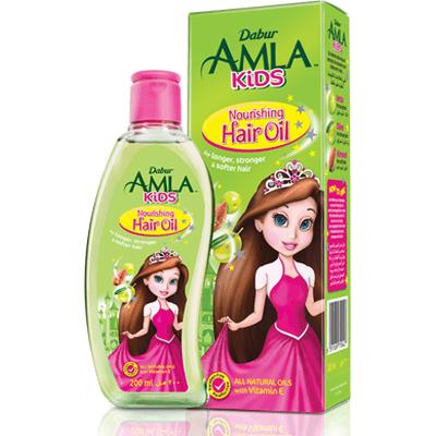 Olej do włosów Amla dla dzieci Dabur