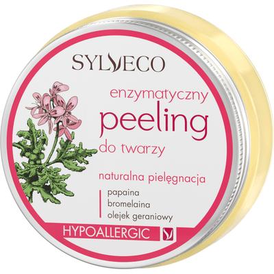 Peeling enzymatyczny dla cery wrażliwej i naczynkowej Sylveco