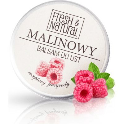 Malinowy balsam do ust Fresh&Natural