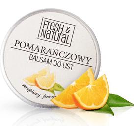 Pomarańczowy balsam do ust