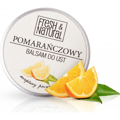 Pomarańczowy balsam do ust Fresh&Natural