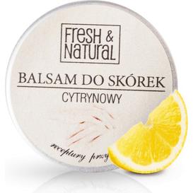 Fresh&Natural Cytrynowy balsam do skórek i paznokci