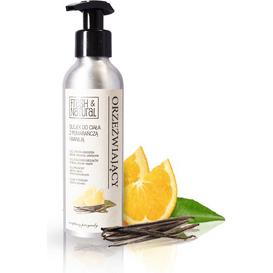Fresh&Natural Orzeźwiający olejek do ciała z pomarańczą i wanilią