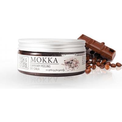 Cukrowy peeling do ciała - Mokka Fresh&Natural