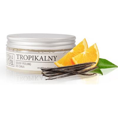 Solny peeling do ciała - Tropikalny Fresh&Natural