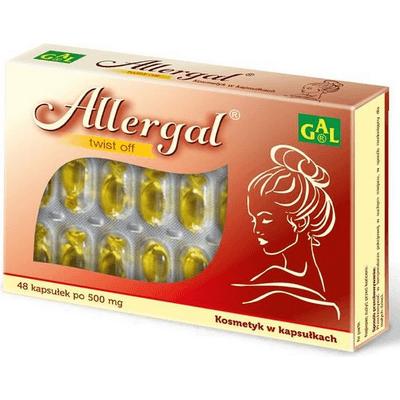 Allergal 500 mg GAL
