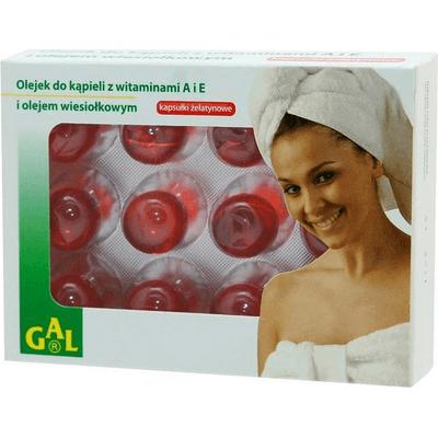 Olejek do kąpieli z witaminami A i E oraz olejkiem wiesiołkowym GAL