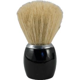 Czarny pędzel do golenia