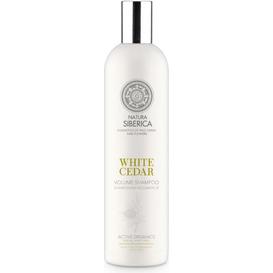 Natura Siberica Szampon do włosów zwiększający objętość - Biały Cedr, 400 ml