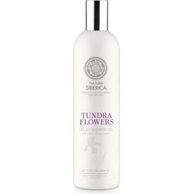 Natura Siberica Relaksujący żel pod prysznic - Kwiaty Tundry, 400 ml
