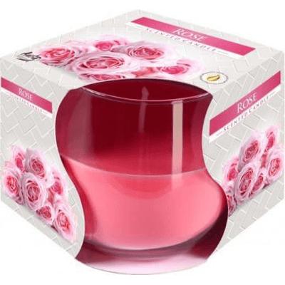 Świeca zapachowa w szkle (różne rodzaje) BISPOL