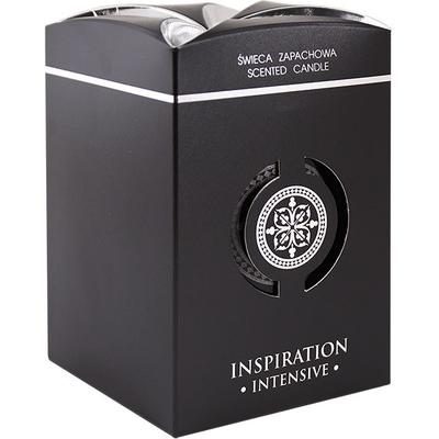 Świeca zapachowa w szkle Inspiration (czarna) BISPOL