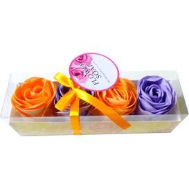 AD Kosmetyki Pachnące konfetti do kąpieli - płatki kwiatów - 4 szt.