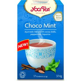 Herbata Choco Mint z kakao i miętą BIO - 17 x 2,2 g