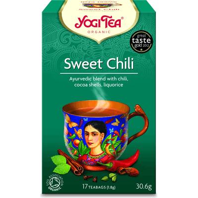 Herbata Słodkie Chili BIO - 17 x 1,8 g Yogi Tea