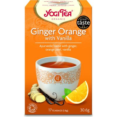 Herbata Imbirowo-Pomarańczowa z Wanilią BIO - 17 x 1,8 g Yogi Tea
