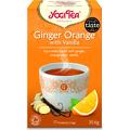 Herbata Imbirowo-Pomarańczowa z Wanilią BIO - 17 x 1,8 g