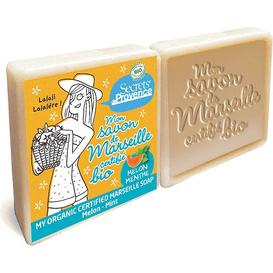BIO mydło marsylskie - Melon i mięta