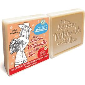 BIO mydło marsylskie - Słodka brzoskwinia